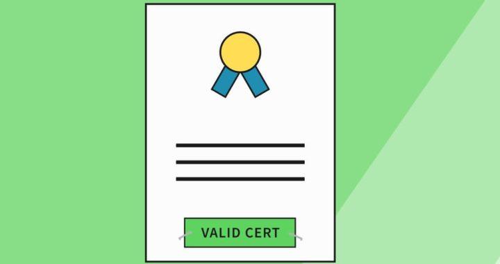 Maximum Lifespan of SSL/TLS Certificates is 398 Days from September 1