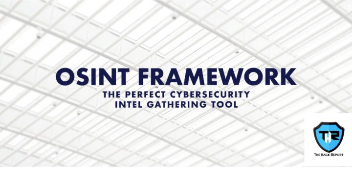 OSINT Framework- How to use it?
