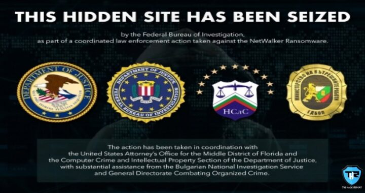 Dark-Web Website Connected With The Netwalker Ransomware, Seized By Authorities