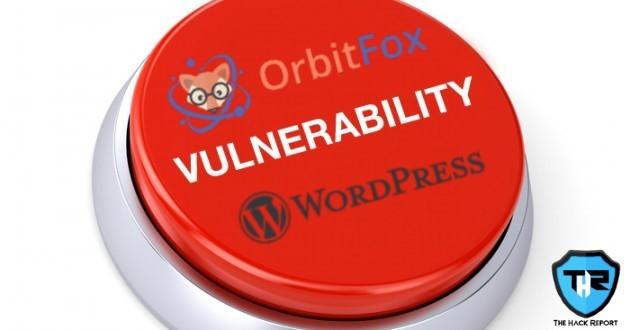 A Severe Bug Present In WordPress Plugin Called Orbit Fox Serves Site Takeover